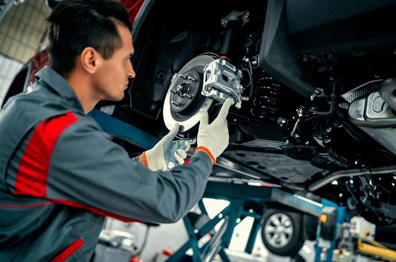 refaire la surface des disques de freins